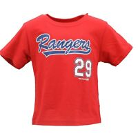 Texas Rangers Genuine MLB Infant & Toddler Size Adrian Beltre T-Shirt New Tags