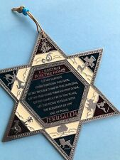 Star of David Blessing For Home wall hanging decor amulet luck kabbalah bless