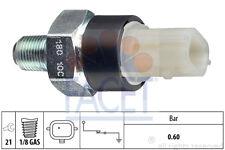 NEW FACET - OIL PRESSURE SENDER DACIA NISSAN RENAULT 7.0180/F