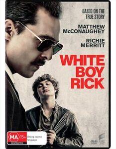 White Boy Rick (DVD, 2019) NEW