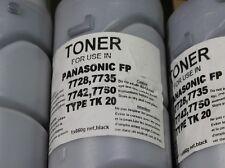 1Stk. Panasonic FP FQ-TK-20K Toner Refield 7728 7735 7742 7750 TYPE TK 20 #20216
