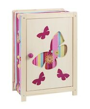 """howa Puppenmöbel - Puppenschrank """"butterfly"""" aus Holz 1605"""