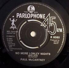 "Paul McCartney - No More Lonley Nights - MISLABLED - 7"" Single - UK - Near Mint"
