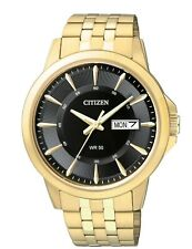Citizen Men's BF2013-56E Quartz Day & Date Gold-Tone Bracelet 41mm Watch