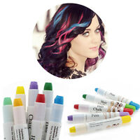 Beauty Temporary Hair Dye Colorful Easy Highlight Color Disposable Hair Crayon&