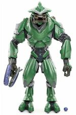 """Halo Reach Covenant Airborne ELITE OFFICER GREEN 6"""" Action Figure McFarlane 2011"""