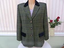 Eastex Heirloom pure lambswool country jacket sz 14 UK