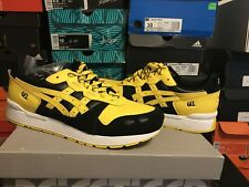 Asics Tiger Gel-Lyte (1191A036) Athletic Shoe - Men's Size 9.5 - Yellow/Black