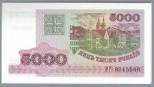 Banknote Weißrussland / Belarus - 5000 Rubel - 1998 - UNC
