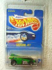 1992 Hot Wheels Shadow Jet #182 Green w/ 5 Spokes