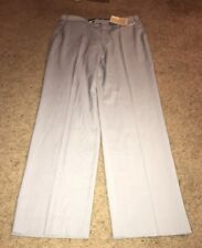 Michael Kors Dress Pants 36 Gray Poly Rayon Flat Front NWT