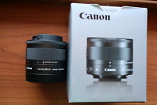 Canon EF-M 28mm f/3.5 Macro IS STM Lens Super Macro f3.5 Stabilized M50 M6...