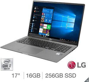 LG gram Ultra-Lightweight Laptop i7-1065G7 16GB 256GB Silver 15Z90N-V.AA72A1