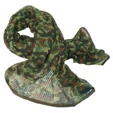 Tactical Scrim Net Military Scarf Combat Face Veil BW Army Sorgo Flecktarn Camo