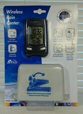 WIRELESS RAIN GAUGE Digital SELF EMPTYING 330 ft Range NIB La Cross Tech Weather