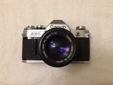 [TESTED] Canon AE-1 W/ 50mm F/1.4 FD Prime Lens 35mm Film Camera New Light Seals
