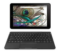 "RCA Saturn 10 Pro 10.1"" Android Tablet with Keyboard 32GB Storage - Black A"