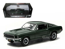 "1968 FORD MUSTANG GT FASTBACK STEVE MCQUEEN ""BULLITT"" 1/43 BY GREENLIGHT 86431"