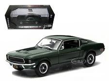 """1968 FORD MUSTANG GT FASTBACK STEVE MCQUEEN  """"BULLITT"""" 1/43 GREENLIGHT 86431"""