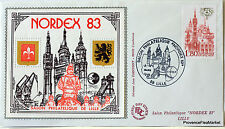 France Nordex Lille 1983 Bloc Sheet CNEP on Letter N°9 FDC