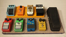 Guitar Pedalboard 8+1 Purple with Case