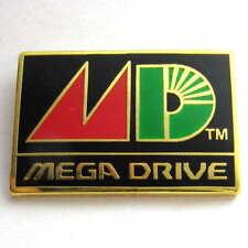 2001 JAPAN SEGA MEGA DRIVE CONSOLE PIN BADGE RETRO LOGO DREAMCAST SGGG SET RARE!