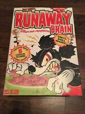 General Monsters Walt Disney's Runaway Brain Chrome Red Vinyl Doll (Variant, RAR