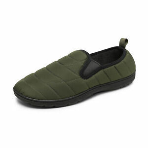 DREAM PAIRS Men's Water-Resistant Winter Warm Slippers Machine Washable Shoes