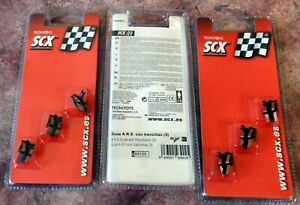 SCX 1/32 88350 ARS GUIDE WITH FITTED BRAIDS 3 PIECES (QTY 3 PACKS) - NEW