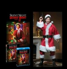 Silent Night, Deadly Night Part 2 blu-ray + poster + Neca figure new