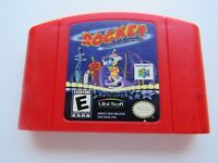 Rocket Robot on Wheels Nintendo 64 N64 OEM Authentic Video Game Cart Rare GOOD!
