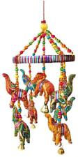 Handmade Elephant wall Roof Hanging decorative ornament Christmas Diwali Party