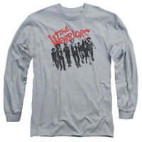 The Warriors Movie THE GANG Picture Licensed Adult Long Sleeve T-Shirt S-3XL