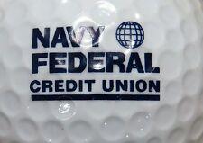(1) NAVY FEDERAL CREDIT UNION LOGO GOLF BALL