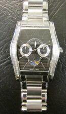 Men's WITTNAUER 42-Diamond Belasco Moon Phase Indicator Wrist Watch C8671196