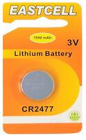 1 x CR2477 3V Lithium Batterie 1050 mAh ( 1 EINZELBLISTER ) EASTCELL