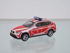 """Herpa 093552 H0 1 87 BMW X1 coche del Comando"""" bombero Landshut """""""