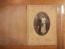 PHOTO ANCIENNE REF 209 - Mariage - Photo studio Lhermié Connerré Couple