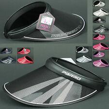 Sunvisor VPG BLACK UV Protect Visor Sun Shade HAT Outdoor Golf Sports Unisex
