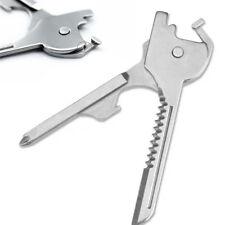 Keyring Tool 6 in1 Swiss Tech Multifunction Bottle Opener Utili Key Screwdriver