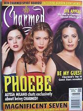 ALYSSA MILANO  ROSE McGOWAN  September 2005 CHARMED Magazine #6