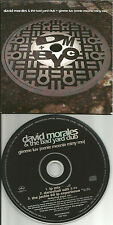 DAVID MORALES Gimme Luv w/ DANCEHALL EDIT & MIX EXPERIENCE PROMO DJ CD Single