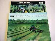 2 John Deere Mower Conditioners & Hay Tools Brochures         b4
