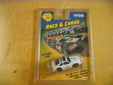 1990 TYCO U-TURN Fire Chief Slot Car Real Siren 7087