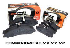 HOLDEN COMMODORE VT VX VY VZ FULL SET FRONT & REAR / BACK BRAKE PADS