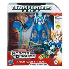 TRANSFORMERS PRIME ROBOTS IN DISGUISE Voyager Class STAR SEEKER THUNDERTRON