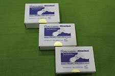 3 x Crema da Barba Sapone Valobra Mentolo 150g Confezione 3 pezzi Saponi Valobra