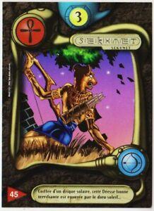 45 SEKHMET - CARTE DEUS - SERIE I - 1996 - VF [ NEUF MINT ] trad's