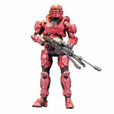 McFarlane Toys Halo 4 Series 1 Red Spartan Soldier w/ Sniper Rifle Action Figure