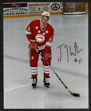 "1996 Boston Bruins Pre-Rookie Joe Thornton Autographed Soo Greyhounds 8""x10"""